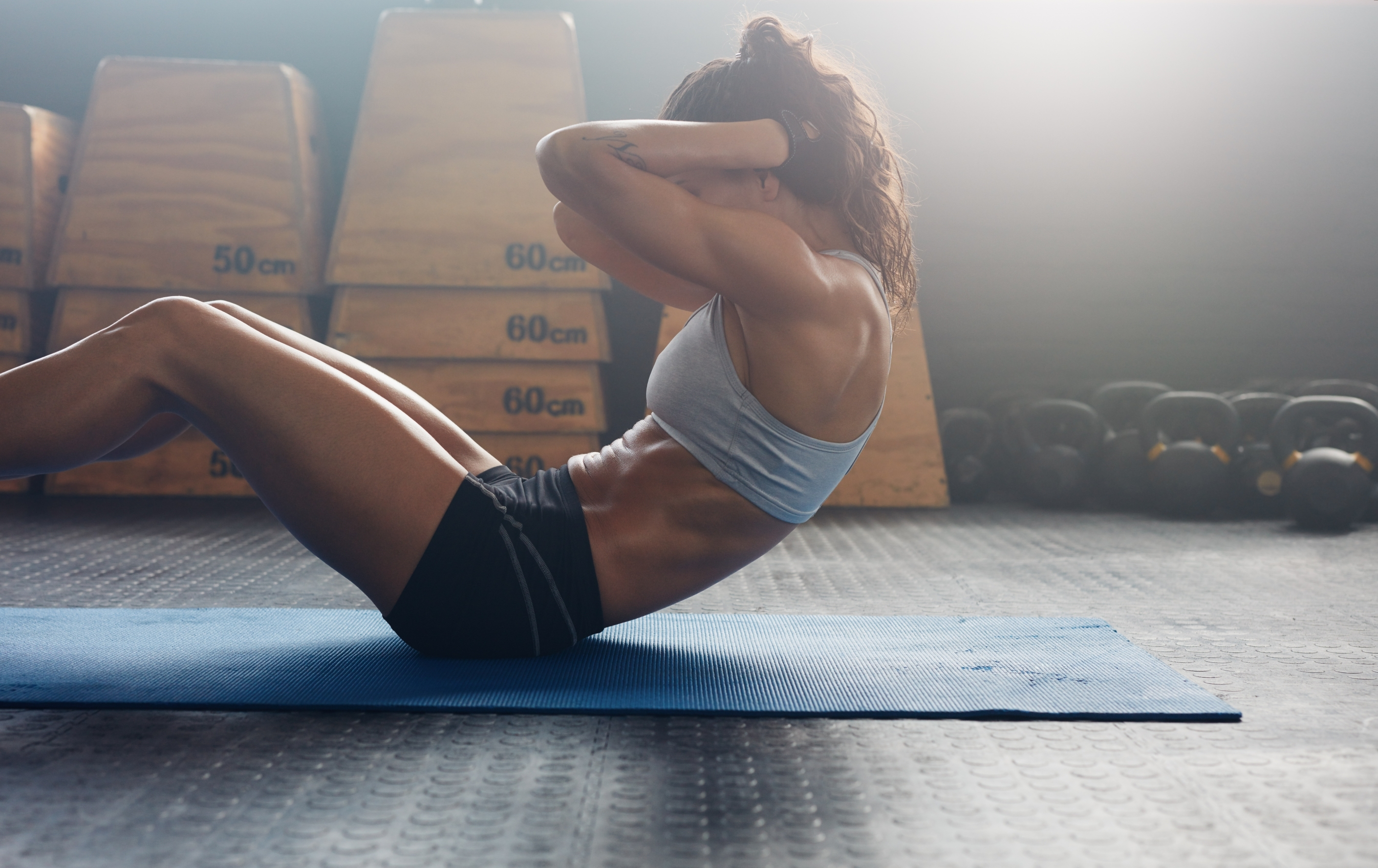 ab workouts from home