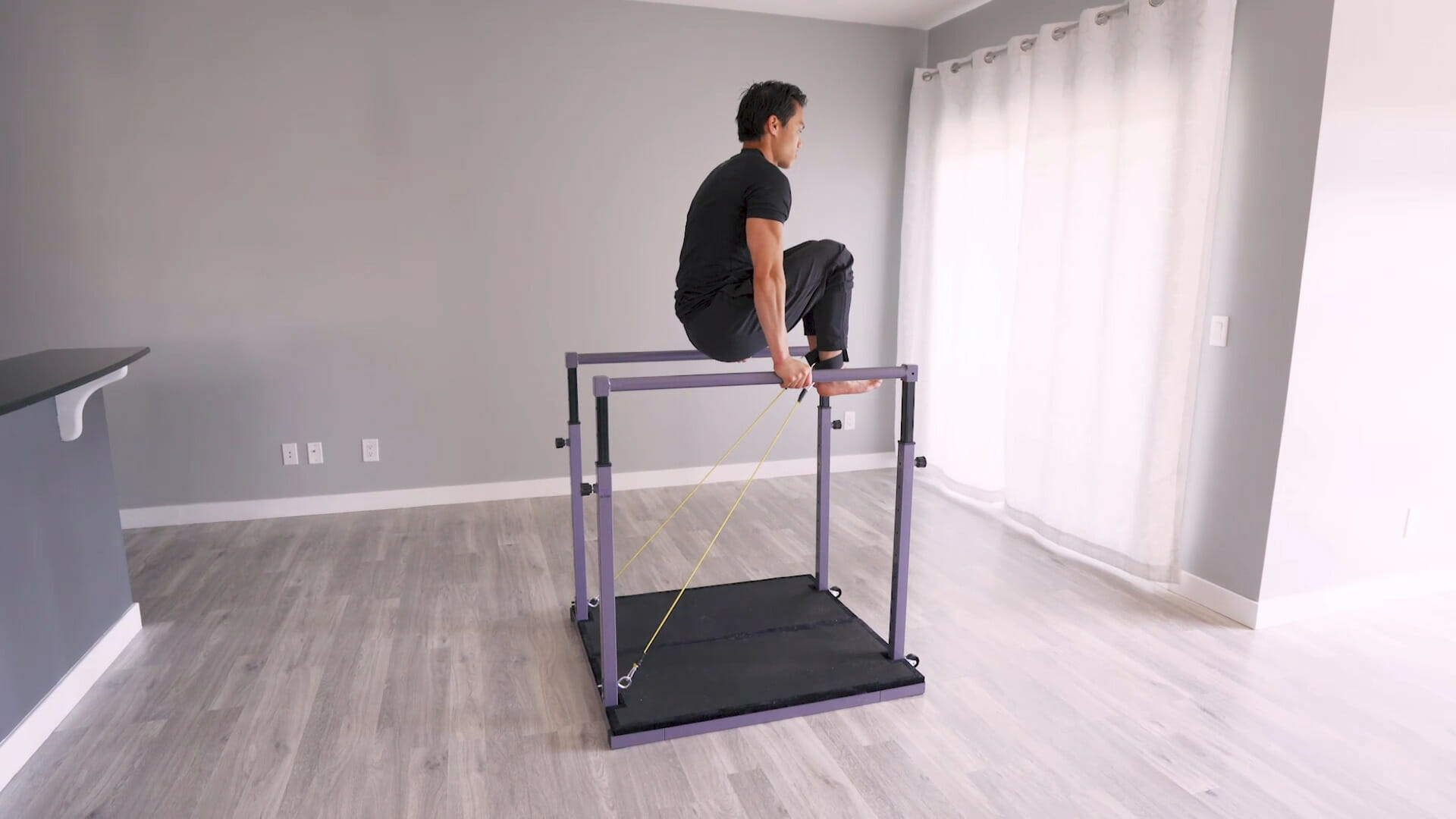 the evolution parallel bars