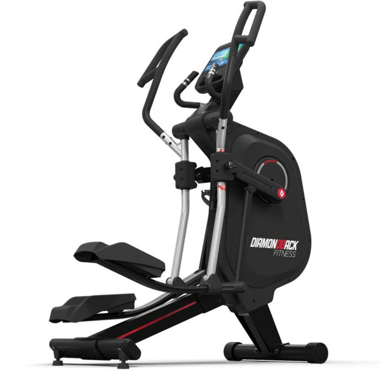 Diamondback 1280ef adjustable stride elliptical trainer