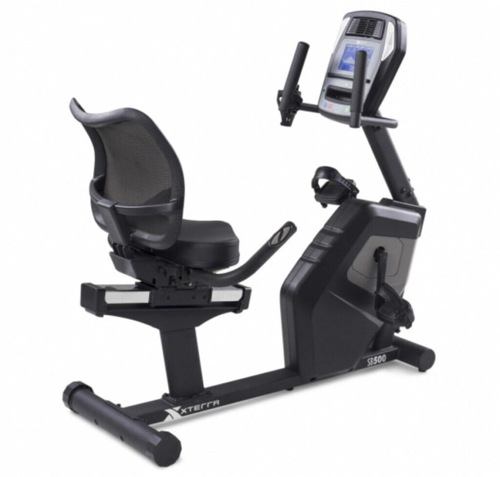 xterra fitness sb500 recumbent bike review