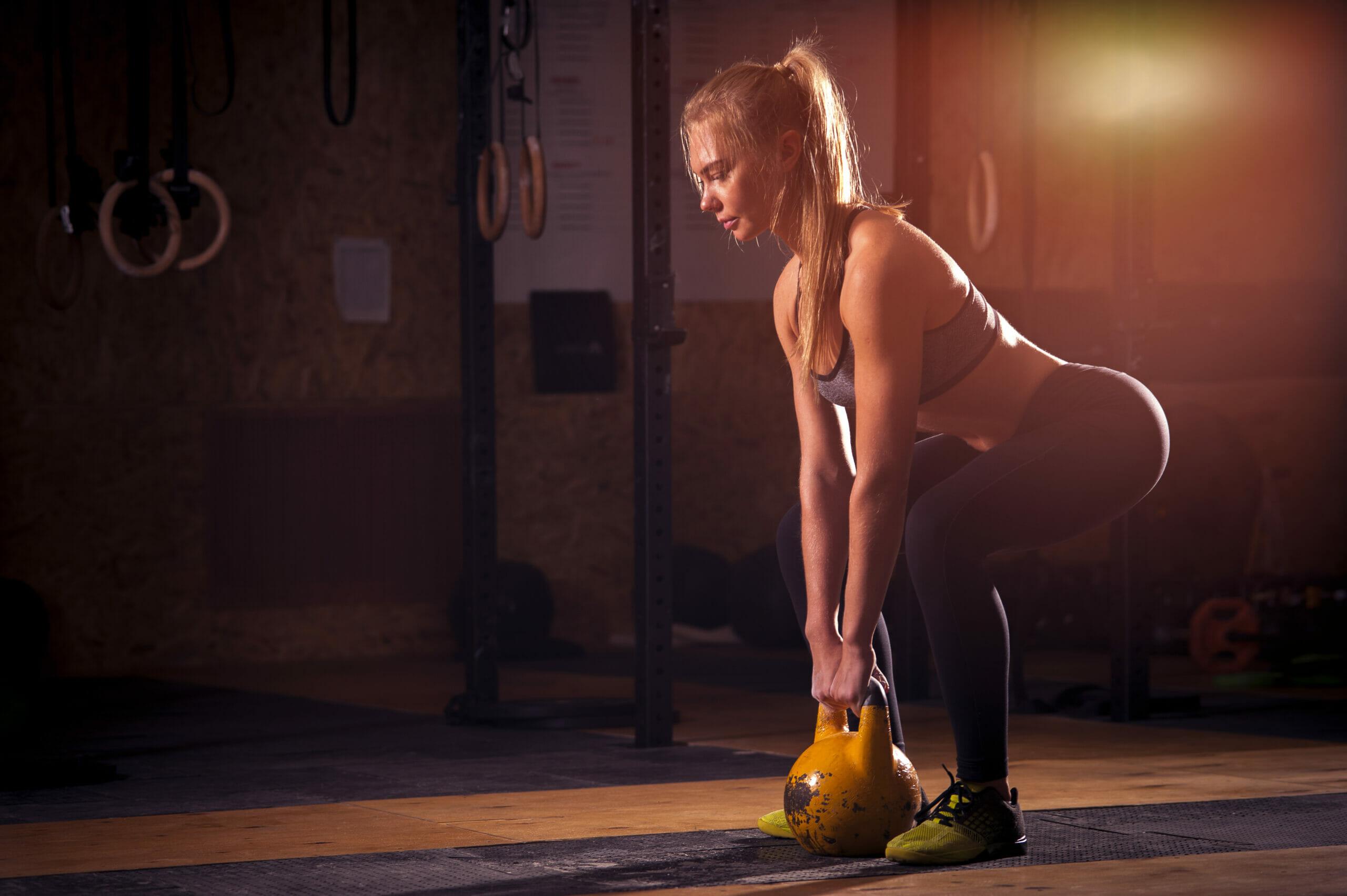 best kettlebell exercises for women